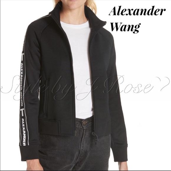 Alexander Wang Jackets & Blazers - NWT's Alexander Wang French Terry Track Jacket